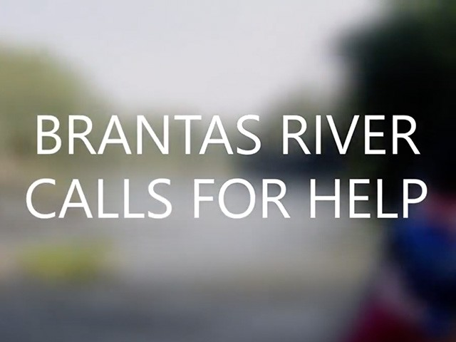 Brantas River cals for help